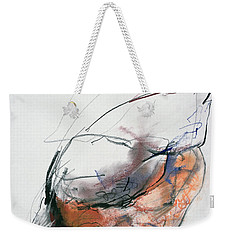 Feeding Hen, Trasierra Weekender Tote Bag by Mark Adlington