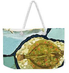 Fish Weekender Tote Bag by English School