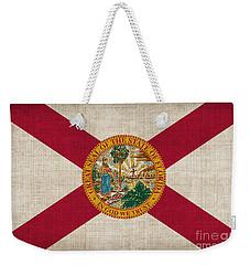 Florida State Flag Weekender Tote Bag by Pixel Chimp