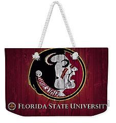 Florida State University Barn Door Weekender Tote Bag by Dan Sproul