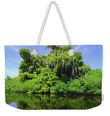 Florida Swamps Weekender Tote Bag by Carey Chen