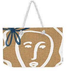 Flower Girl Weekender Tote Bag by Linda Woods