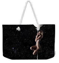 Fly Me To The Moon - Narrow Weekender Tote Bag by Nikki Marie Smith