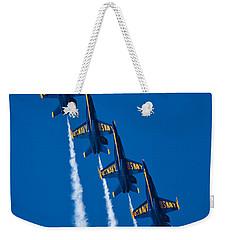 Flying High Weekender Tote Bag by Adam Romanowicz