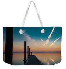 Weekender Tote Bag featuring the photograph Follow Me by Thierry Bouriat
