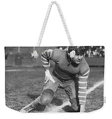 Football Fullback Player Weekender Tote Bag by Underwood Archives