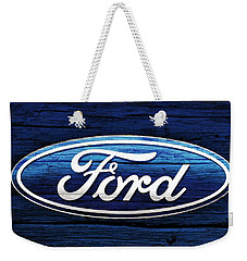 Ford Barn Door Weekender Tote Bag by Dan Sproul