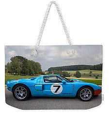 Ford Gt Weekender Tote Bag by Debra and Dave Vanderlaan