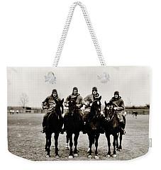Four Horsemen Weekender Tote Bag by Benjamin Yeager