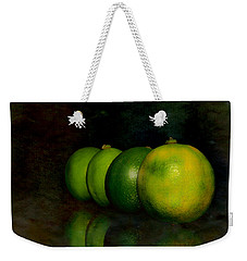 Four Limes Weekender Tote Bag by Toppart Sweden