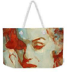 Fragile Weekender Tote Bag by Paul Lovering