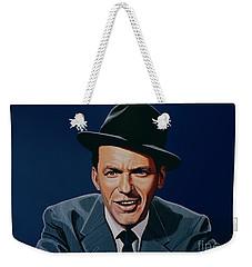 Frank Sinatra Weekender Tote Bag by Paul Meijering