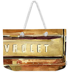Free Ride Weekender Tote Bag by Molly Poole