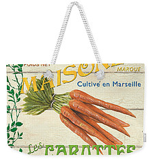 French Veggie Sign 2 Weekender Tote Bag by Debbie DeWitt