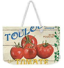 French Veggie Sign 3 Weekender Tote Bag by Debbie DeWitt