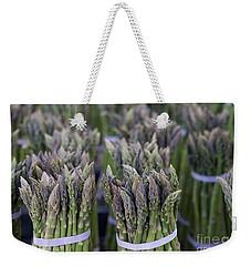 Fresh Asparagus Weekender Tote Bag by Mike  Dawson
