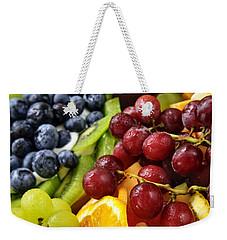 Fresh Fruits Weekender Tote Bag by Elena Elisseeva