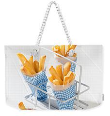 Fries Weekender Tote Bag by Amanda Elwell