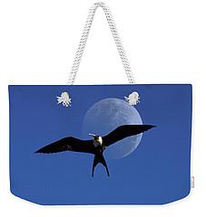 Frigatebird Moon Weekender Tote Bag by Jerry McElroy