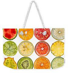 Fruit Market Weekender Tote Bag by Steve Gadomski