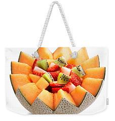 Fruit Salad Weekender Tote Bag by Johan Swanepoel