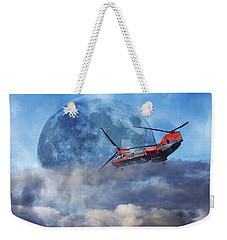 Full Moon Rescue Weekender Tote Bag by Betsy Knapp