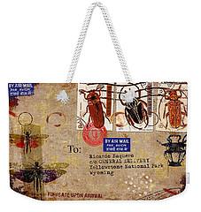 Fumigate Upon Arrival Weekender Tote Bag by Carol Leigh