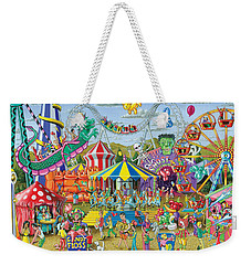 Fun At The Fairground Weekender Tote Bag by Mark Gregory