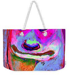 Funky Meerkat Tunnel Art Print Weekender Tote Bag by Sue Jacobi