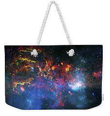 Galactic Storm Weekender Tote Bag by The  Vault - Jennifer Rondinelli Reilly