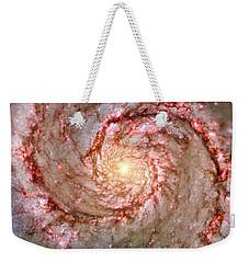 Galactic Whirlpool Weekender Tote Bag by Benjamin Yeager