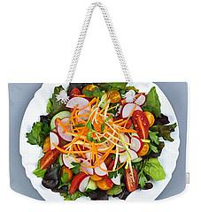Garden Salad Weekender Tote Bag by Elena Elisseeva