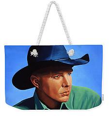 Garth Brooks Weekender Tote Bag by Paul Meijering