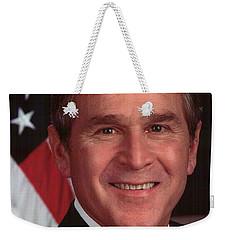 George W Bush Weekender Tote Bag by Official Gov Files