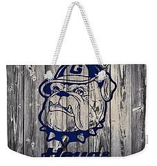 Georgetown Hoyas Barn Weekender Tote Bag by Dan Sproul