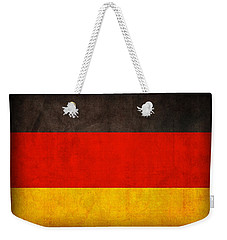 Germany Flag Vintage Distressed Finish Weekender Tote Bag by Design Turnpike