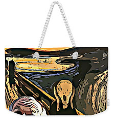 Ghosts Of The Past Weekender Tote Bag by John Malone