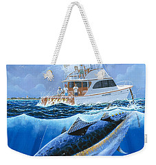 Giant Bluefin Off00130 Weekender Tote Bag by Carey Chen