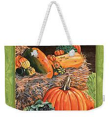 Give Thanks Weekender Tote Bag by Debbie DeWitt