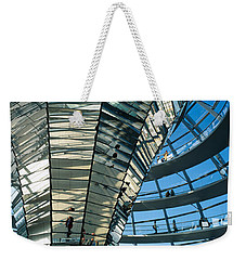 Glass Dome Reichstag Berlin Germany Weekender Tote Bag by Panoramic Images