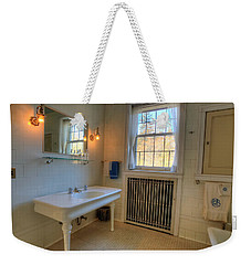 Glensheen Bathroom Duluth Weekender Tote Bag by Amanda Stadther