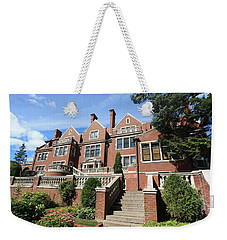 Glensheen Mansion Exterior Weekender Tote Bag by Amanda Stadther