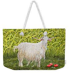Goat Weekender Tote Bag by Ditz