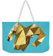 Goat Weekender Tote Bag by Pollyanna Illustration