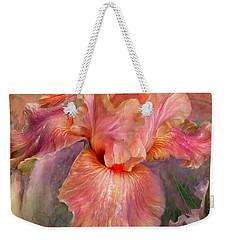 Goddess Of Spring Weekender Tote Bag by Carol Cavalaris