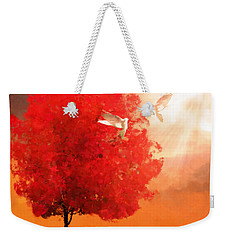 God's Love Weekender Tote Bag by Lourry Legarde