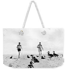 Golf With Gooney Birds Weekender Tote Bag by Underwood Archives