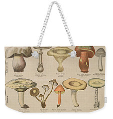 Good And Bad Mushrooms Weekender Tote Bag by French School