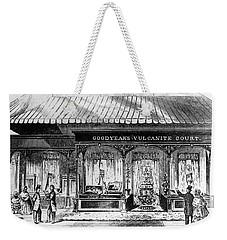 Goodyear Rubber Exhibit Weekender Tote Bag by Underwood Archives