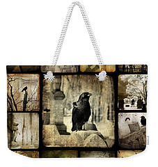 Gothic And Crows Weekender Tote Bag by Gothicolors Donna